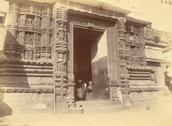 Close view of the inner gateway of the Jagannatha Temple, Puri